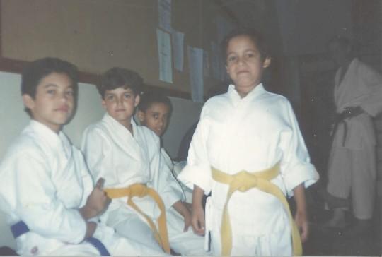 O meninos do Karetê Budo Fénix de Viçosa